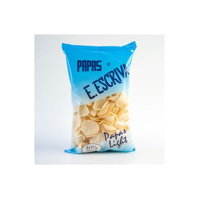 Papas Escrivà Light Onduladas 110g
